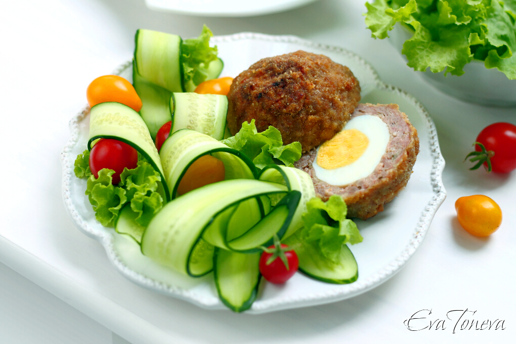 Baked Scotch Eggs1