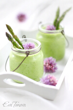 Cold asparagus soup small