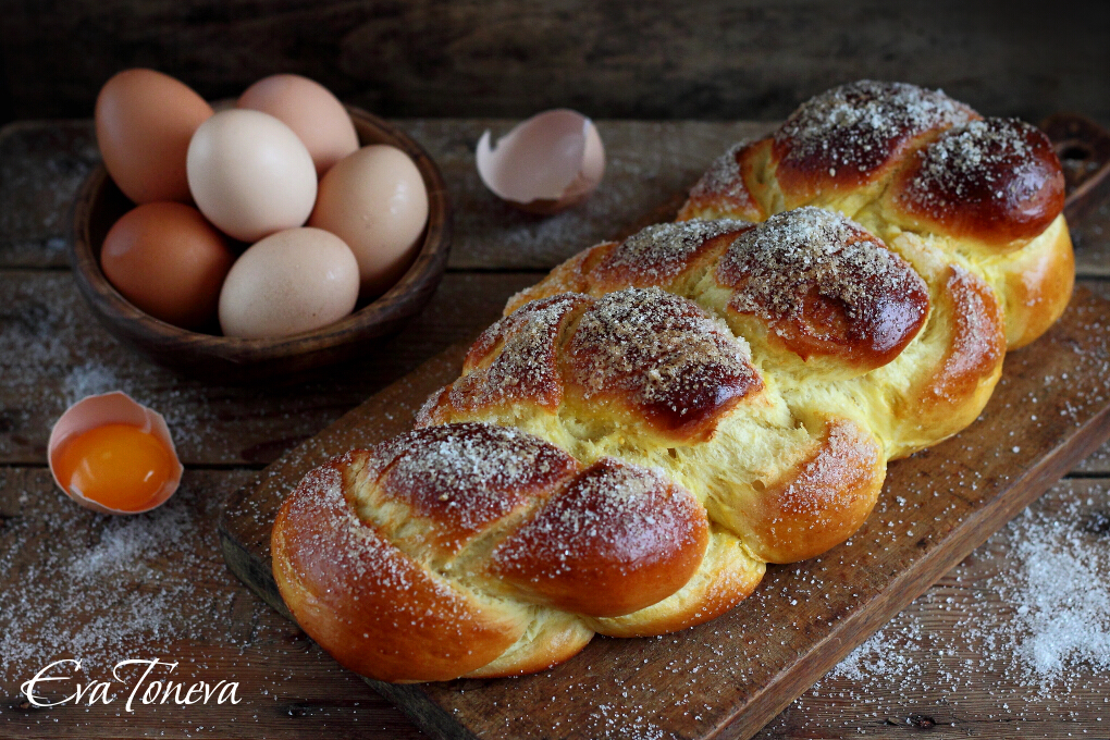 Economical Easter bread1