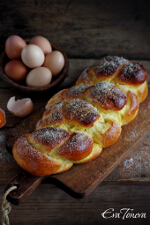 Economical Easter bread small