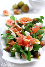 Fig and Goat Cheese Salad small