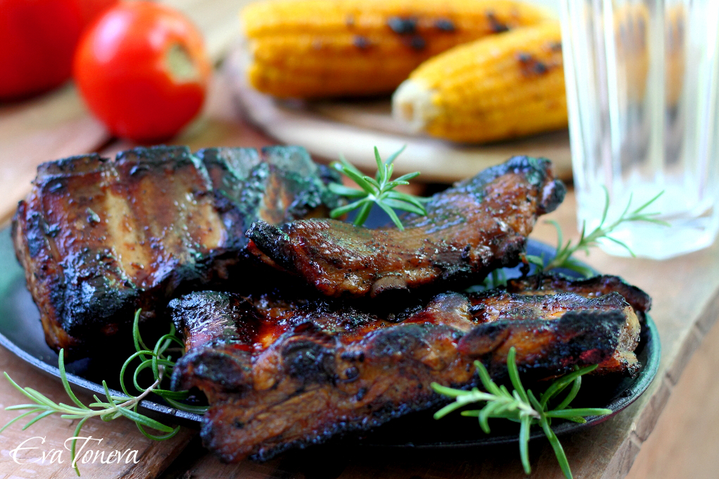 Grilled pork ribs1