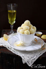 Limoncello truffles small