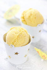 Mango ice cream small