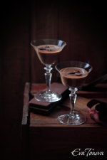 Milk chocolate panna cotta small
