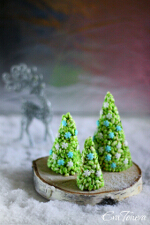 Rice Krispie Cone Christmas Trees small