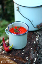 Roasted Red Pepper Soup small