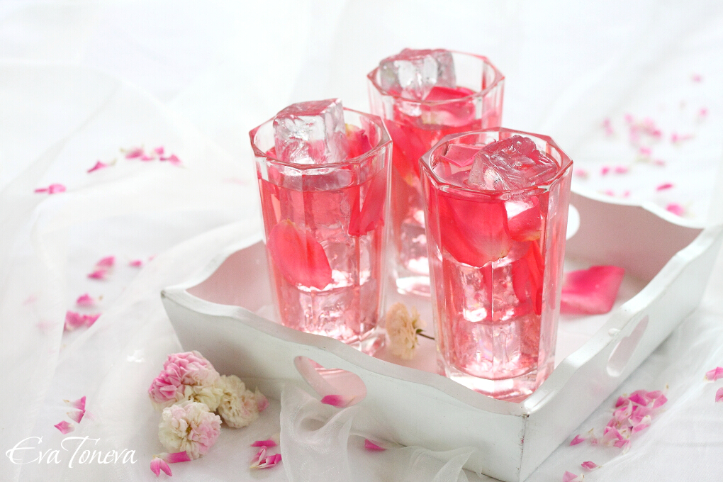 Rose Petal Iced Tea