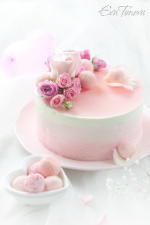 Roses crepes cake small