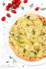 potato pizza small