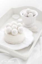 Raffaello iced cheesecake small